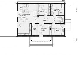 Проект дома №545