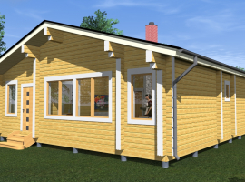 Проект дома №226