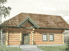 Проект дома №555