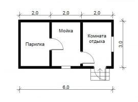 Проект бани-39