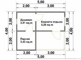 Проект бани-59