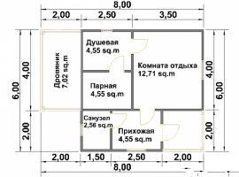Проект бани-138