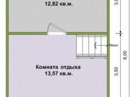 Проект бани-130
