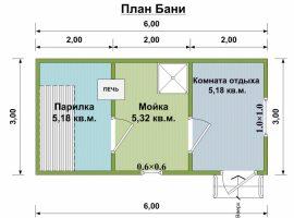 Проект бани-36