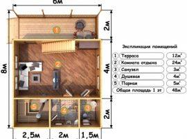 Проект бани-133