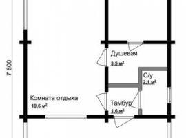 Проект бани-134