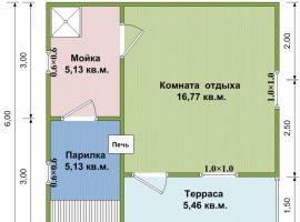Проект бани-119