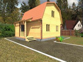 Проект дома №57