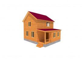 Проект дома №65
