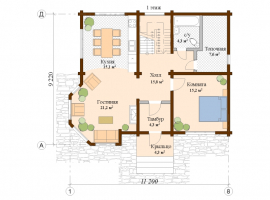 Проект дома №194