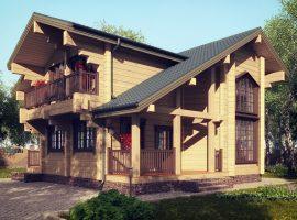 Проект дома №186