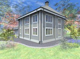 Проект дома №224
