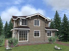 Проект дома №290
