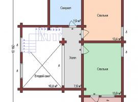 Проект дома №284