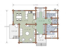 Проект дома №202