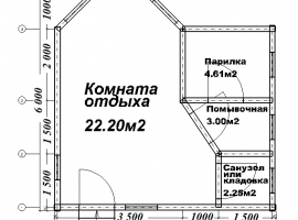 Проект бани-113