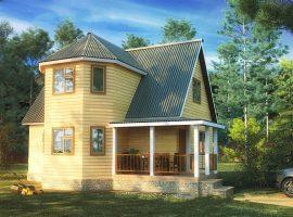 Проект дома №158