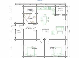 Проект дома №282