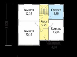 Проект дома №187