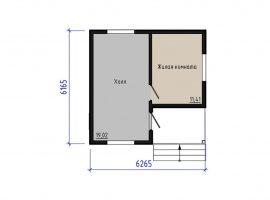 Проект дома №302
