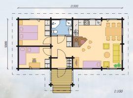 Проект дома №317