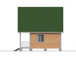 Проект дома №396