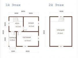 Проект дома №398