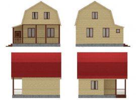 Проект дома №401
