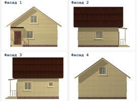 Проект дома №405