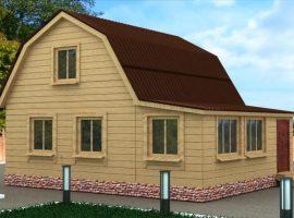 Проект дома №406
