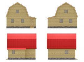 Проект дома №412