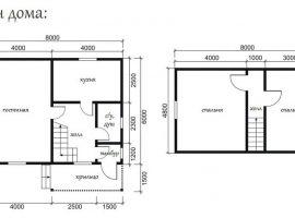 Проект дома №415