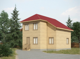 Проект дома №417