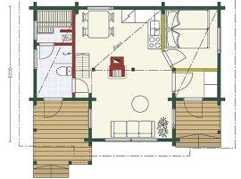 Проект дома №309