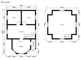Проект дома №418
