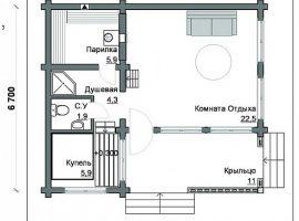 Проект бани-126