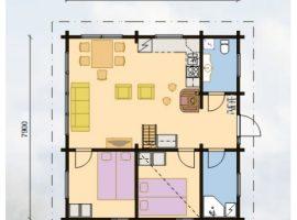 Проект дома №436