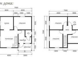 Проект дома №438