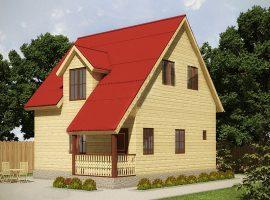Проект дома №439