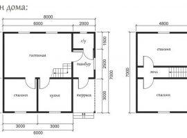 Проект дома №442