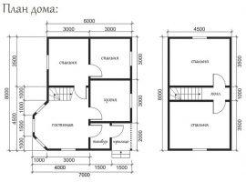 Проект дома №443
