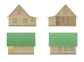 Проект дома №444