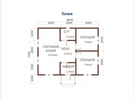 Проект дома №322