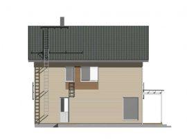 Проект дома №458