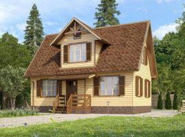 Проект дома №68