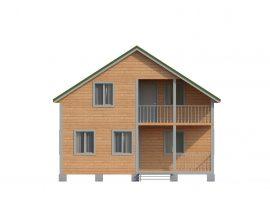 Проект дома №493