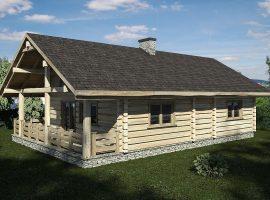 Проект дома №496