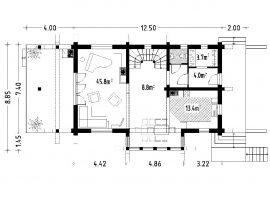 Проект дома №498