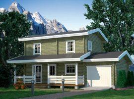 Проект дома №499