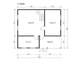 Проект дома №475
